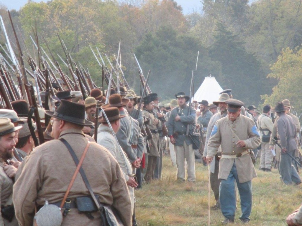 Perryville, KY reenactment, image from Charlie Coleman on Facebook
